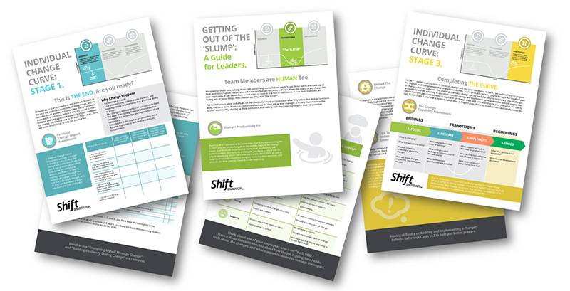 Manulife Shift Quick Reference Cards - Change Management