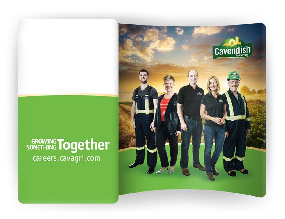 Cavendish Agri Services Employer Brand Services Booth