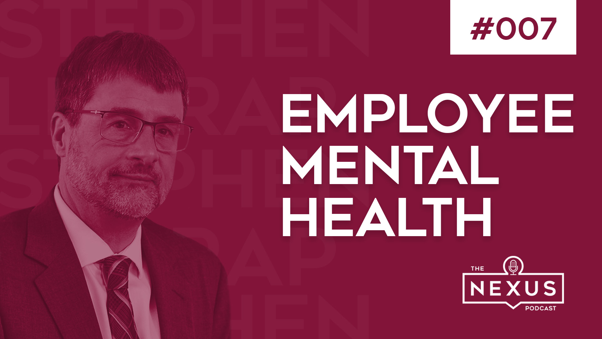 How to Support Employee Mental Health with Stephen Liptrap