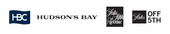Logos, HBC, Hudson's Bay, Saks 5th Avenue, Saks Off 5th