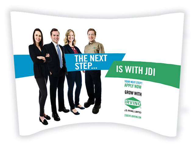 JDI My Next Step Campus Recruitment Booth