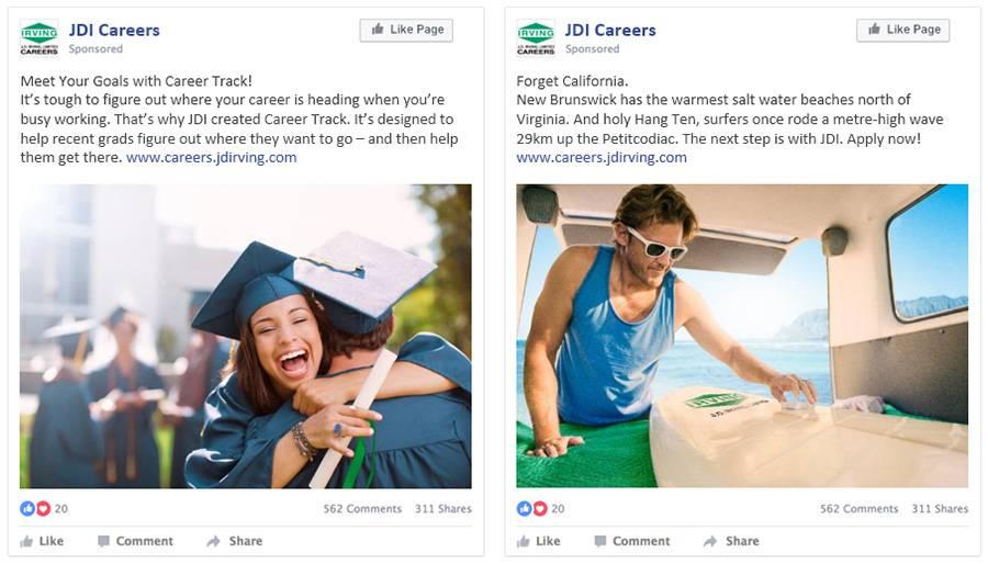 JDI My Next Step Campus Social Media