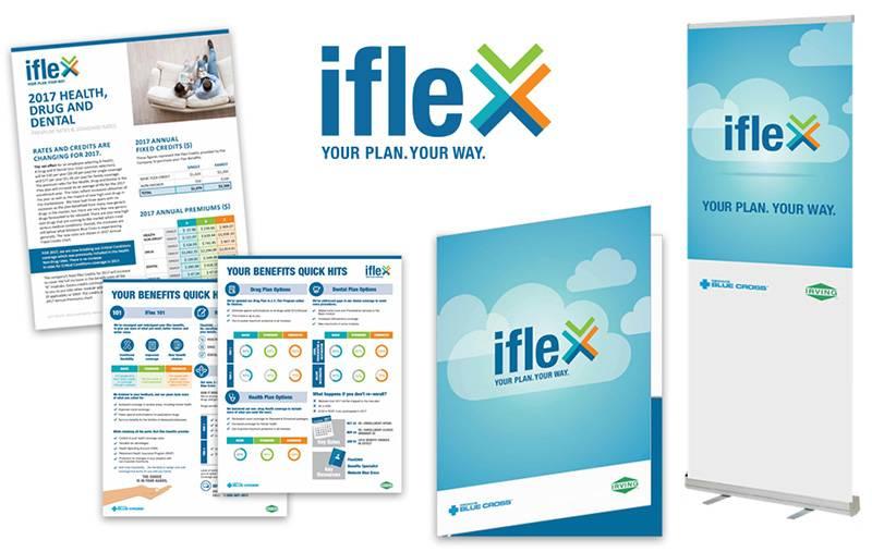 JDI iFlex, work samples