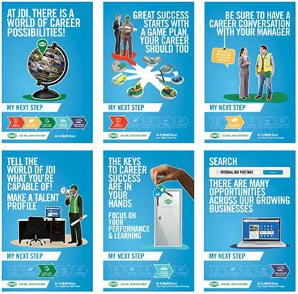 JDI My Next Step posters
