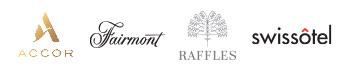 Logos, Accor, Fairmont, Raffles, Swissotel